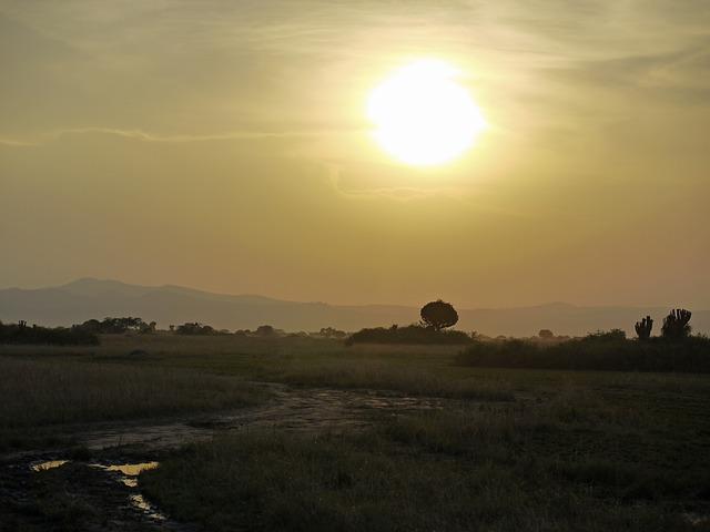 Uganda dusk